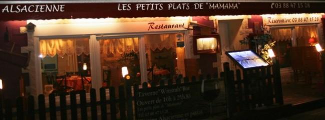 """Bienvenue au restaurant """"Les petits plats de Mamama"""" à Rothau"""